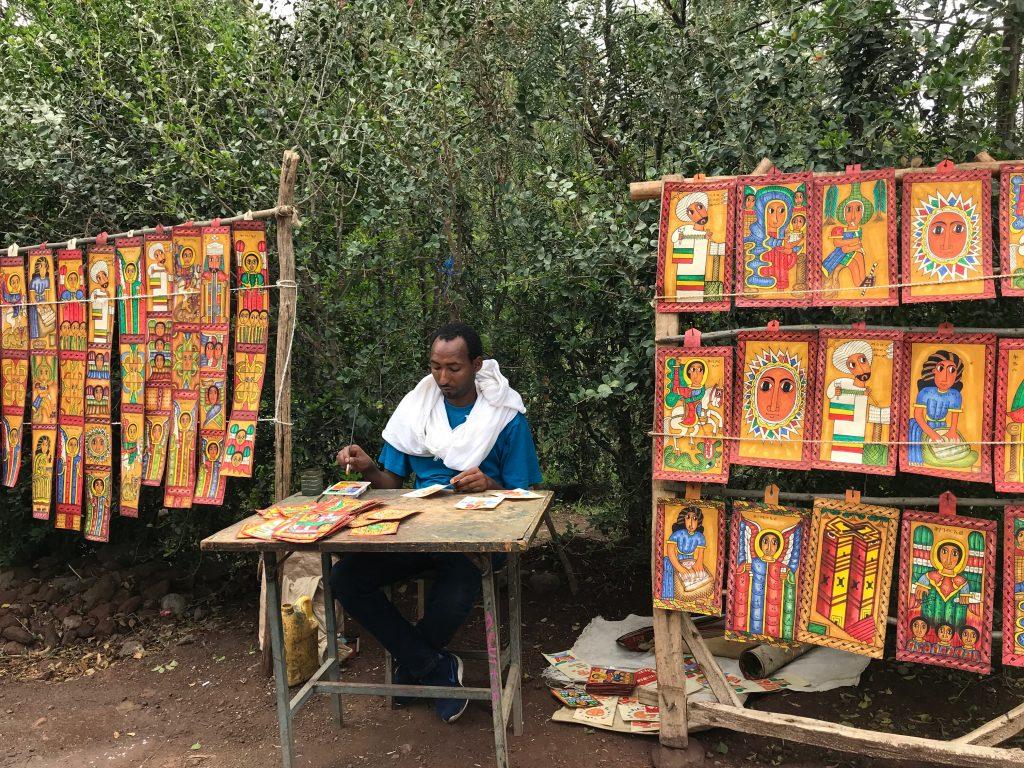 manufatti artigianato dipinto a mano chiese ortodosse rupestri lalibela etiopia africa sconfort zone