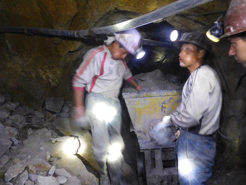 minatori potosì bolivia tour
