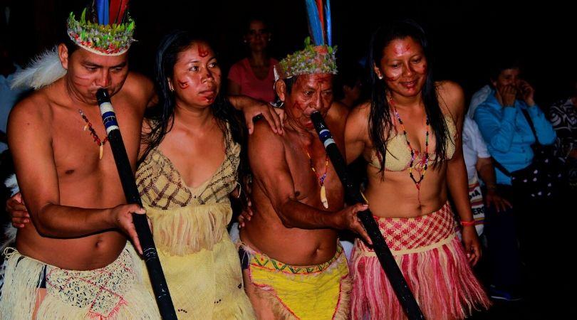 tribù indigene Amazzonia Guaviare Colombia
