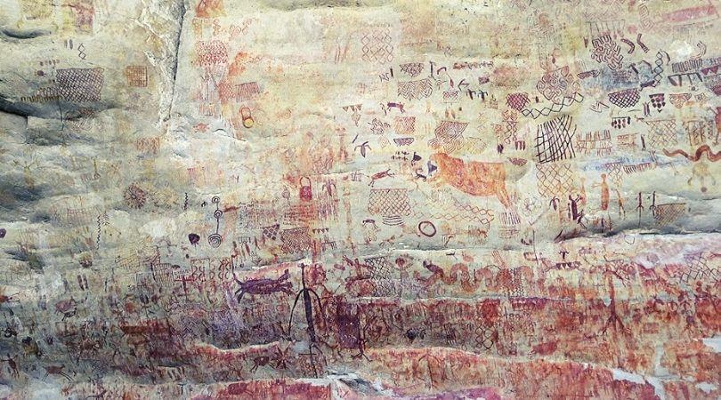 installazioni rupestri foresta amazzonica colombia guaviare
