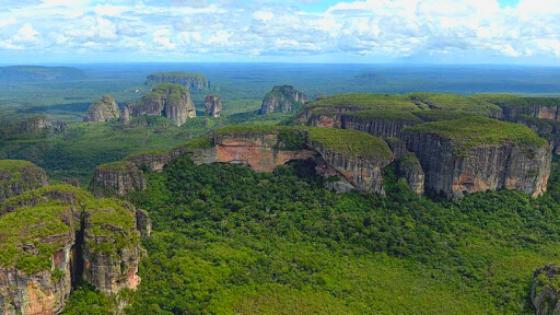 chiribiquete foresta amazzonica più grande in Colombia