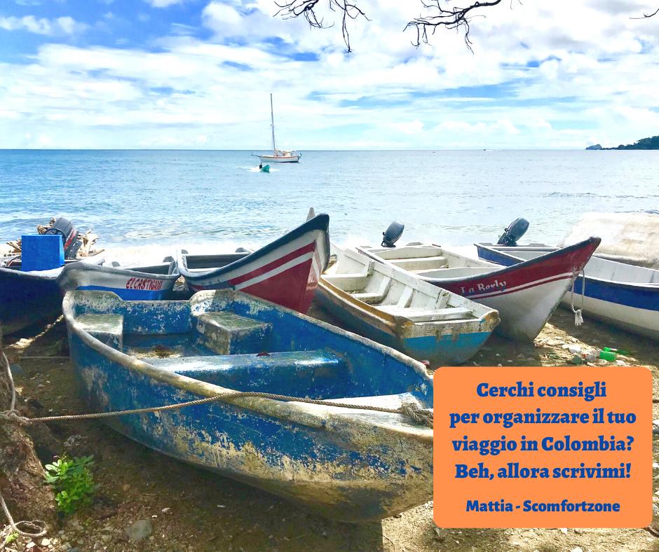 Chiedi maggiori informazioni per organizzare il tuo viaggio in Colombia