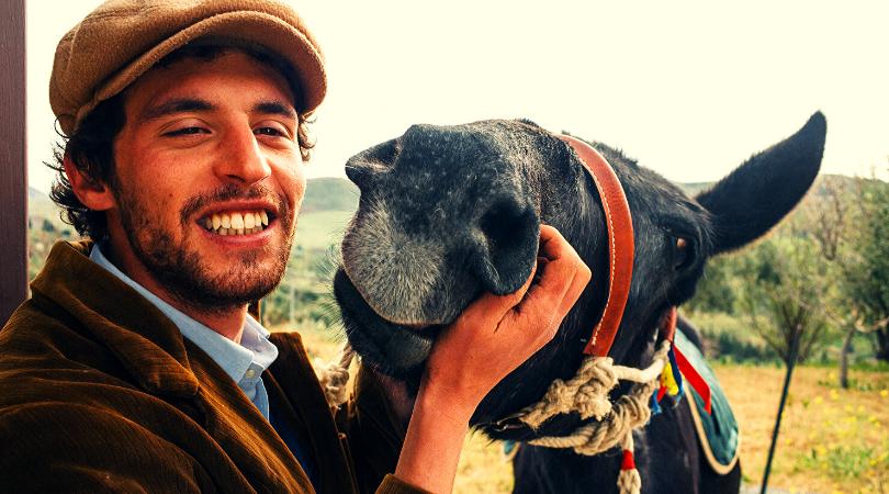 Francesco Paolo Lanzino regista di Woodvivors Italia a passo di mulo