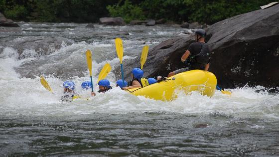 fare rafting e altri sport estremi a San Gil in Colombia