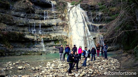 Camminata trekking a piedi fino alla cascata acquacheta partendo da San Benedetto in Alpe luoghi di Dante Parco Foreste Casentinesi