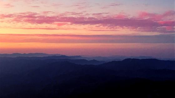 Trekking nel Parco Foreste Casentinesi panorama dal Monte Falco la cima più alta Romagna