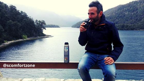 Bere Mate in Argentina Mattia Fiorentini viaggiatore local e fondatore del portale Scomfort Zone