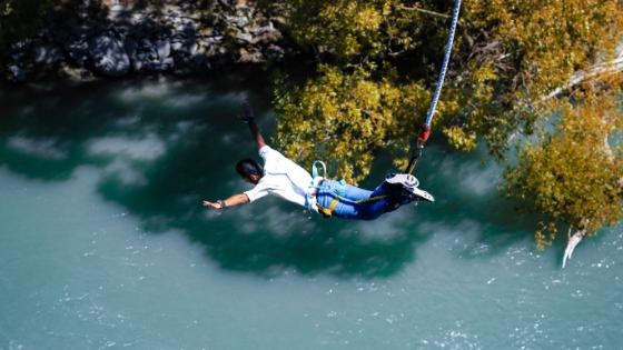 fare bunjee jumping e altri sport estremi a San Gil in Colombia