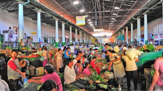mercato di san gil cose da fare esperienze local in Colombia
