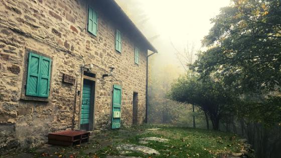 Rifugio Villaneta Parco Foreste Casentinesi itinerario a piedi dove dormire Campigna