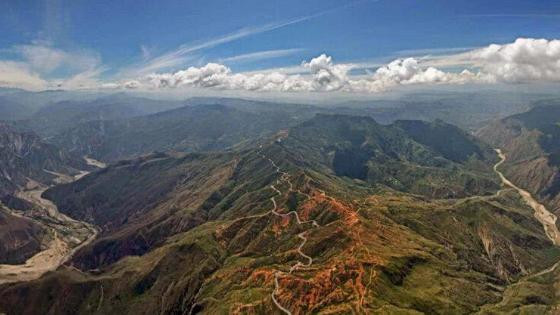 sport estremi a San Gil in Colombia regione Santander vicino Barichara