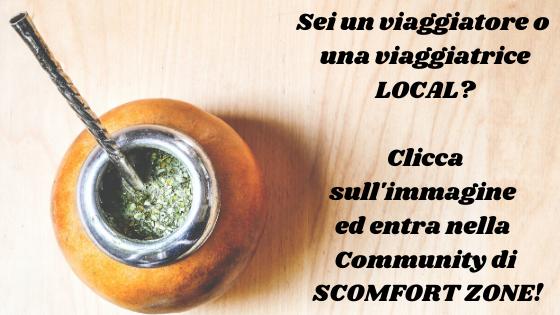 vivere e viaggiare local iscrizione alla newsletter di Scomfort Zone il blog di Mattia Fiorentini