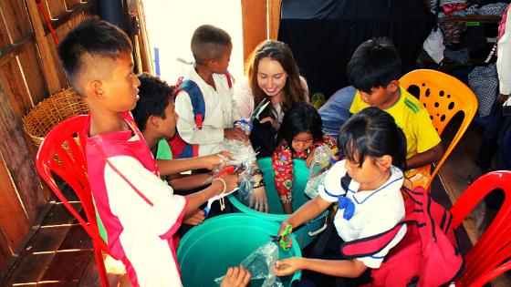Volontariato in Asia Cambogia Laos Viva la Vida Family il racconto di Giulia Zilibotti