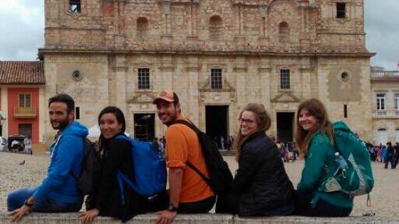 Mattia Fiorentini viaggiatore local di scomfort zone racconta sua esperienza con hang out di couchsurfing a Zipaquirà Bogotà in Colombia