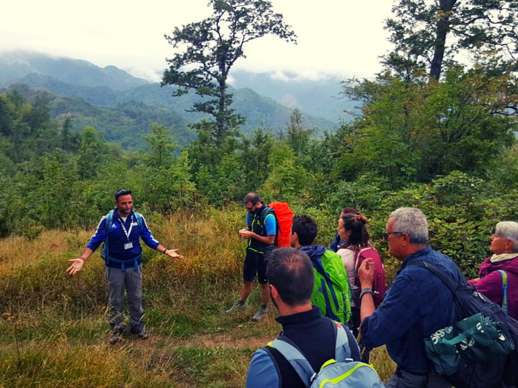 cosa fa la guida ambientale escursionistica AIGAE