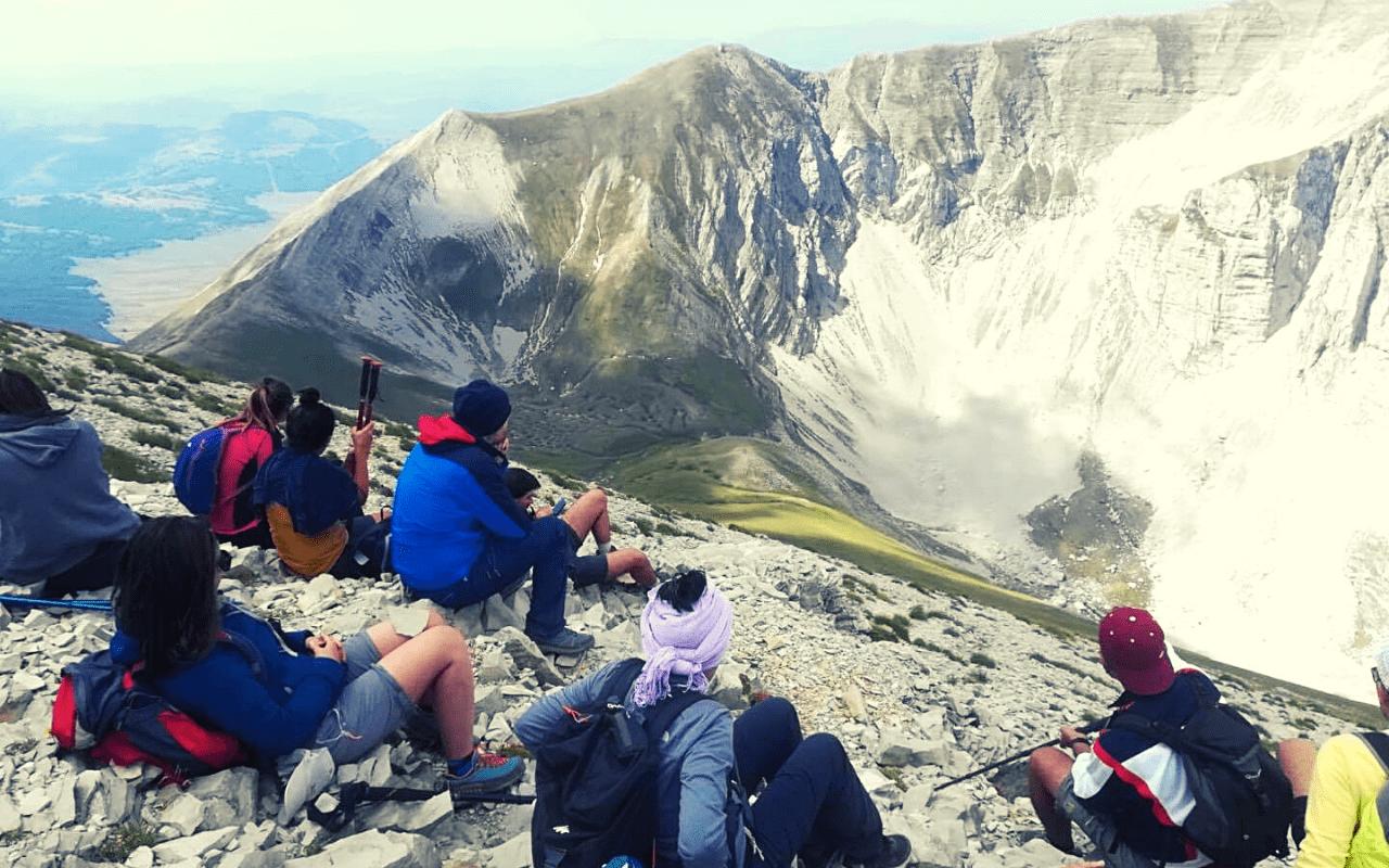 Trekking-sul-Monte-Vettore-Monti-Sibillini